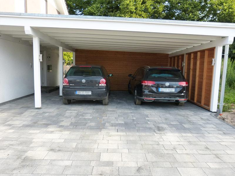 Gartengestaltung pflasterung einfahrt terrasse for Gartengestaltung carport