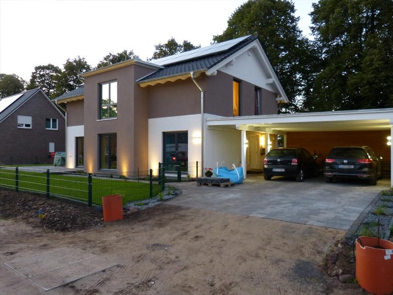 Haus Beleuchten beleuchtung carport with beleuchtung carport er set auen