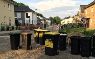 Müllentsorgung in einer Privatstraße?