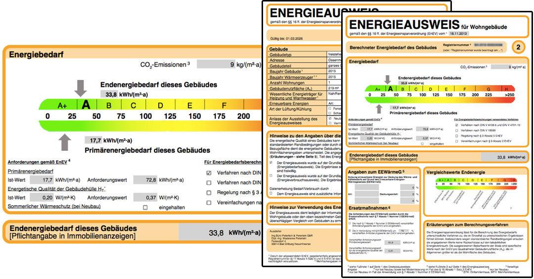 Zertifikate, Nachweise & Schlussrechnung