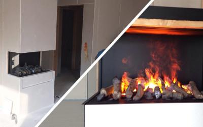 KW 12 – Trockenbau Kamin, Inbetriebnahme PV, Sonstige Arbeiten