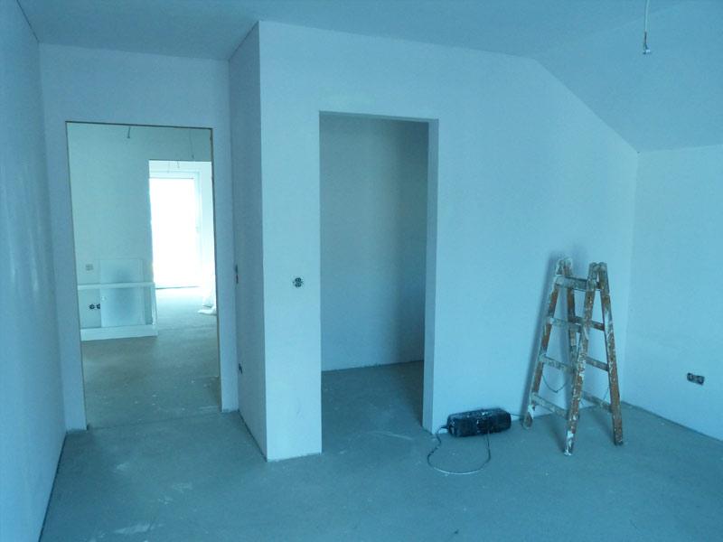 kw 16 maler au enputz smarthome suckf ll bautagebuch aus dem solardorf in norderstedt. Black Bedroom Furniture Sets. Home Design Ideas