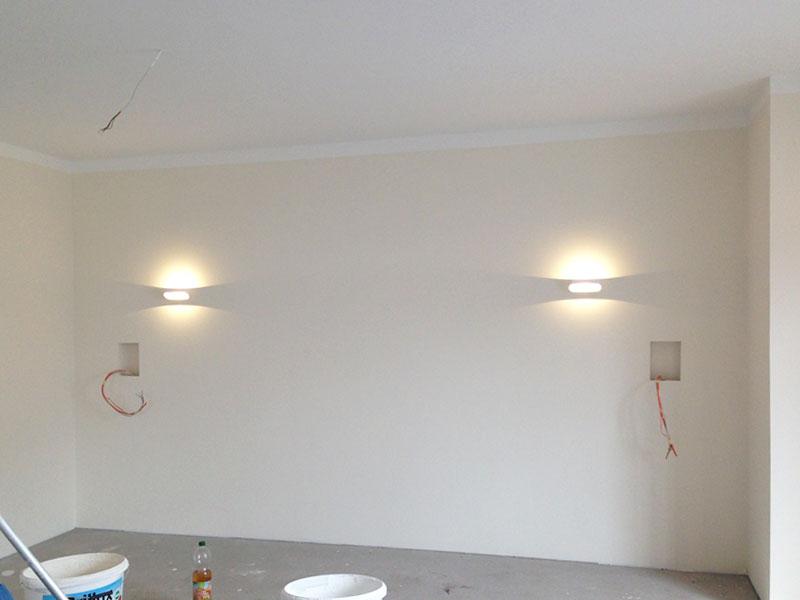 Wandleuchten Für Wohnzimmer wandleuchten wohnzimmer | suckfüll bautagebuch aus dem solardorf in