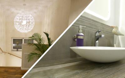 KW 30 – Restarbeiten Maler, Baugutachter, Waschbecken