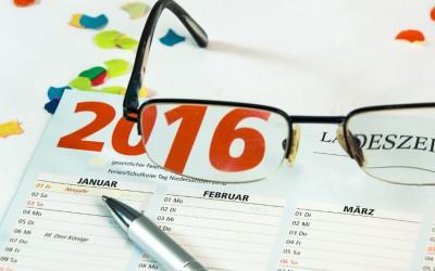 Änderung der Gesetzeslage ab 2016
