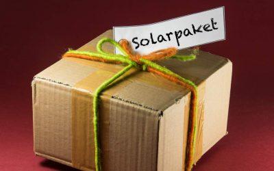 Das Solarpaket – was davon noch übrig ist