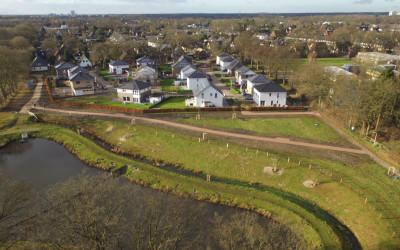 Gestaltung des Ossenmoorparks neben dem Baugebiet